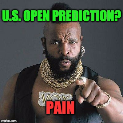 Mr. T us open prediction